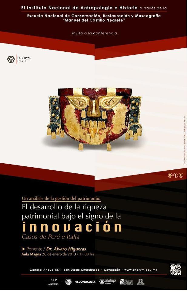 Patrimonio Perú ENCRYM conferencia