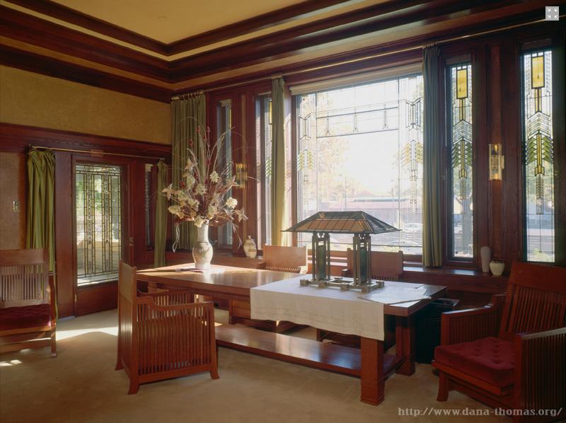DE LA CASA #64: Casa Dana-Thomas de Frank Lloyd Wright/ JTG. – LA ...