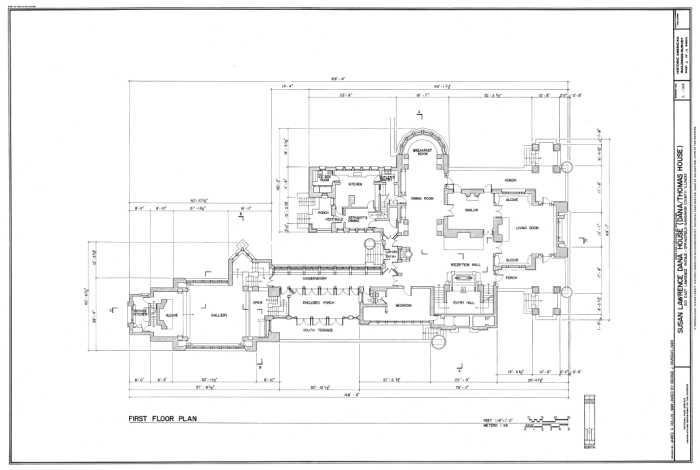 Dana_House_plans_Springfield,_IL