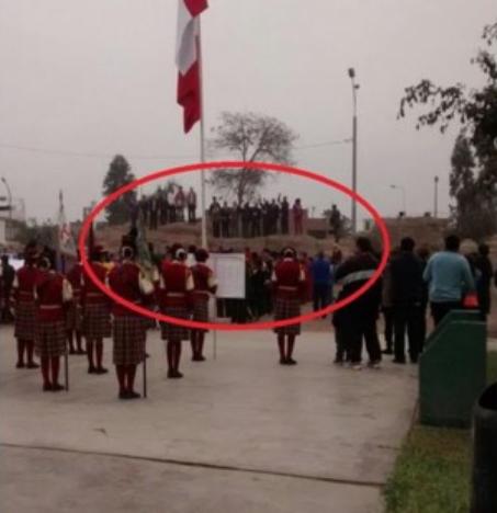 Fiestas patrias en huaca