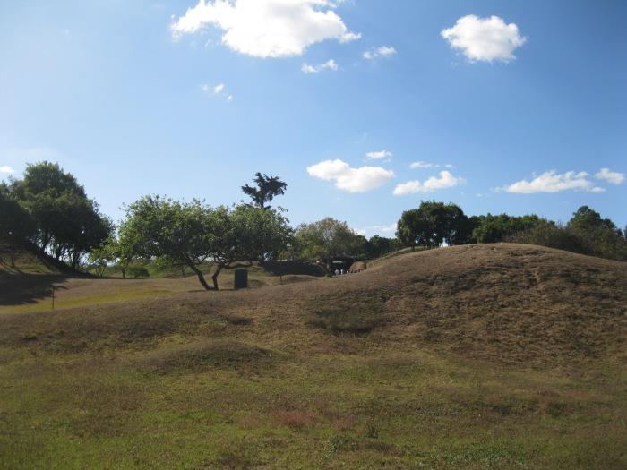Monticulos-en-el-Parque-Arqueologico-Kaminaljuyu