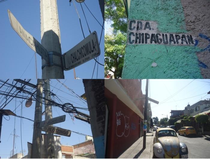 nombres calles