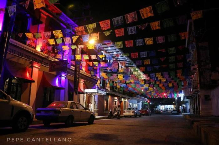 Calle del centro Misantla