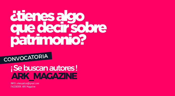 Convocatoria la ARK_Magazine 20